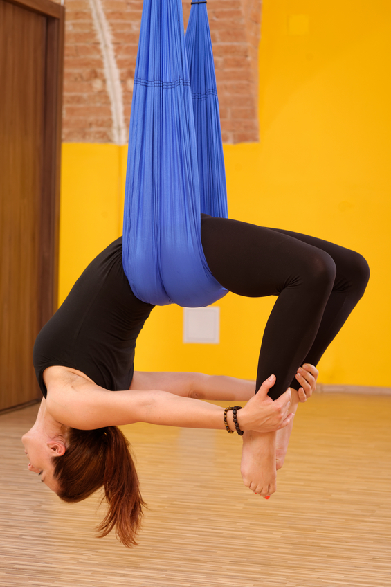 Adult Silks Classes, Zacada