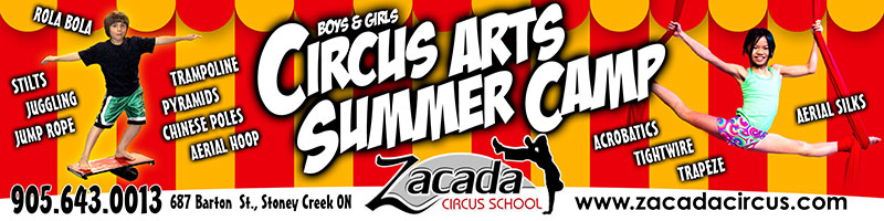 Summer Camps for Kids, Zacada Circus School